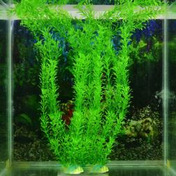 1/2/5PC Fish Tank Aquarium Green Plants Water Grass Ornament