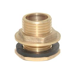 """1/2"""" Brass Water Tank Hose Tube Pipe Connector Adapter Fitti"""