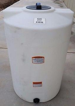 100 gallon poly water storage tank tanks