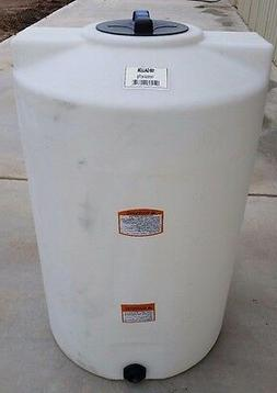 100 gallon poly water storage tank tanks vert Norwesco