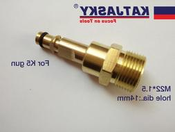 100% copper car washer hose connector fit <font><b>Karcher</