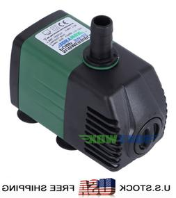 110-120V Submersible Water Pump 739.7GPH Fish Tank Fountain