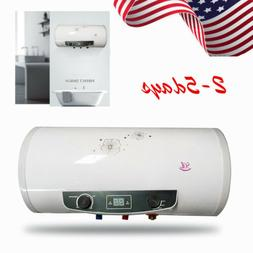110V Electric Flash Heat Instant Hot Water Heater Tank Showe