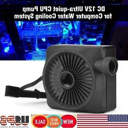 12V DC Ultra-Quiet Water Pump&Pump Tank for Computer Water C