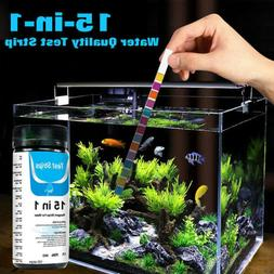 15-in-1 Water Test Strip for Checking Water Quality Test Aqu