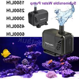 1500-6000L Submersible Fish Tank Water Pump Aquarium Pond Wa