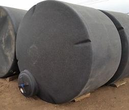 1550 Gallon Poly Water ONLY Storage Tank Tanks