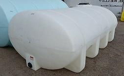 1635 Gallon Poly Plastic Water  Elliptical Leg Tank Norwesco