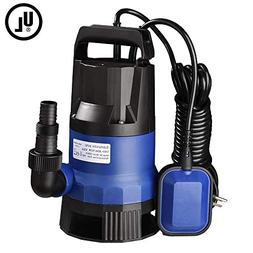 Yescom 1HP 3432GPH 750W Submersible Dirty Clean Water Pump S