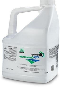 Roundup Pro Herbicide 2.5 gallons   50% glyphosate Weed Kill