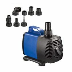 2250 GPH Submersible Water Pump Fish Tank Pond Fountain Pool