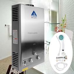 3.2GPM Water Heater 12L LPG Propane Gas Tankless Stainless I
