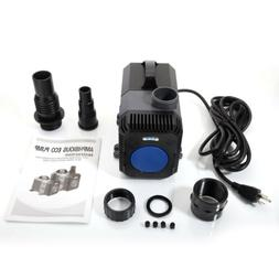 3170GPH Submersible Inline Water Filter Pump Aquar Fountain