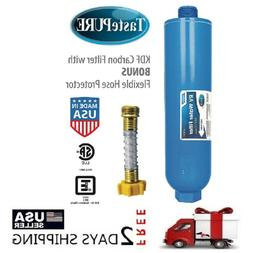 Camco 40043 TastePURE Water Filter with Flexible Hose Protec