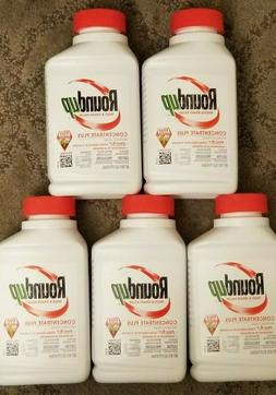 **5 BOTTLES** Roundup Concentrate Plus Weed & Grass Killer :