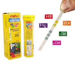 5 in 1 Easy Test Strips PH GH KH NO2 NO3 test kit aquarium f
