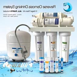 5-Stage Reverse Osmosis RO Water Filter System With Faucet/T