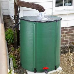 50 Gallon Rain Barrel Folding Portable Water Collection Tank