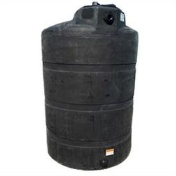 500 Gallon Black Vertical Rain Water Harvesting Collecting T