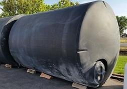 5000 gallon poly water only storage tanks