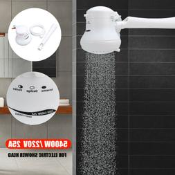 5400w 110v 220v electric shower head heat