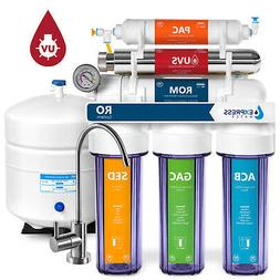 6 Stage UV Ultra-Violet Sterilizer RO Home Drinking Water Fi