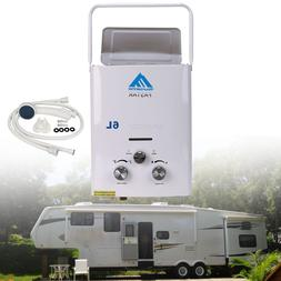 6L LPG Gas Tankless 1.6GPM Portable House Outdoor Instant RV