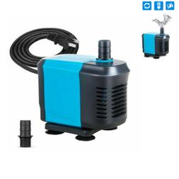 770GPH Small Submersible Pump Eco Aquarium Fish Pond Tank &