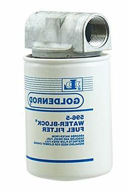 "GOLDENROD  Canister Water-Block Fuel Tank Filter with 1"" NPT"