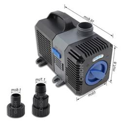 1320GPH ADJUSTABLE SUBMERSIBLE PUMP AQUARIUM POND FOUNTAIN S