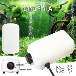 Adjustable Whisper Air Pump Water Fish Tank Aquarium Up to 1