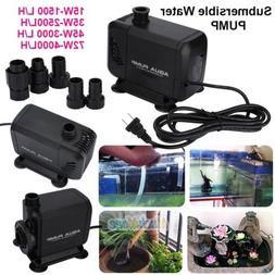 Aqua 1500-4000L/H Submersible Aquarium Fountain Pond Marine