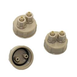 Aquarium CO2 System Pro Tube Valve Guage <font><b>Bottle</b>