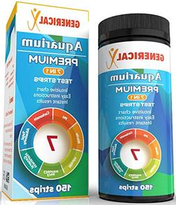 Aquarium Test Strips Kit 7 Parameter  for: ✓Nitrite ✓pH