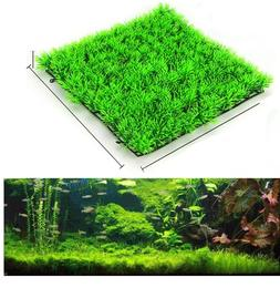 Artificial Water Green Grass Plant Lawn Aquarium Fish Tank L