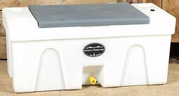 BENCH  WATER CADDY caddie tank horse trailer Gray Lid High C