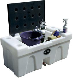bench water caddy horse trailer caddie tank