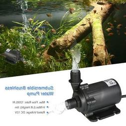 Bluefish DC12V 45.6W 1200L/H 8m Water Pump Aquarium Fish Tan
