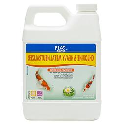 API POND CHLORINE & HEAVY METAL NEUTRALIZER Pond Water Neutr