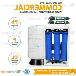 commercial grade ro di water filter system