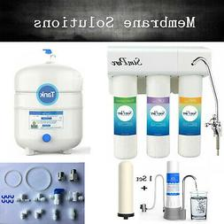 Dual Use Reverse Osmosis Water Filter Systems DI/RO Large RO