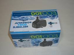 ECOPLUS ECO 100 SUBMERSIBLE PUMP 100 GPH 728492
