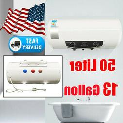 Electric Hot Water Heater Warmer Large Tank House Bathroom S