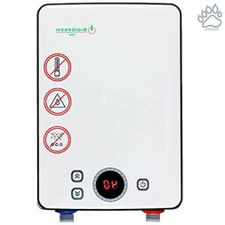 Electric Tankless Water Heater Infrared Tank-Less Instant Ho
