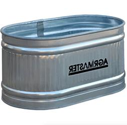 galvanized round water tank feed