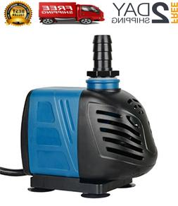 GPH Submersible/Inline Water Pump for Pond Pool Fountain Aqu