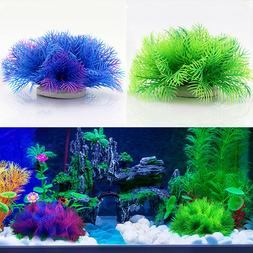 Hot Artificial Aquarium Plastic Fake Water Grass Plant Home