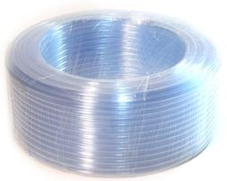 "5/8"" ID 50 Ft 15 Meter PVC Clear Vinyl Tubing Flexible Air V"