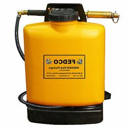 Indian FEDCO 5 Gallon Backpack Tank Fire Fighting Water Hand