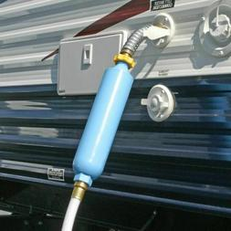 Inline RV Water Filter with Flexible Hose Protector Camper T